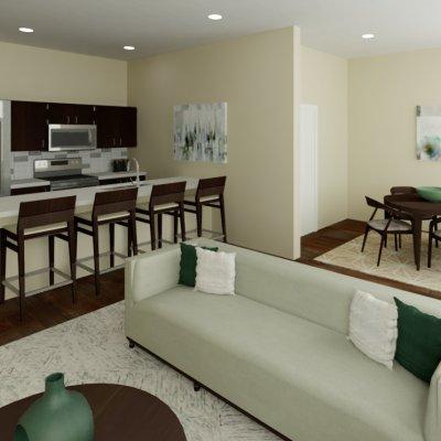 Paramount Square Apartment Den