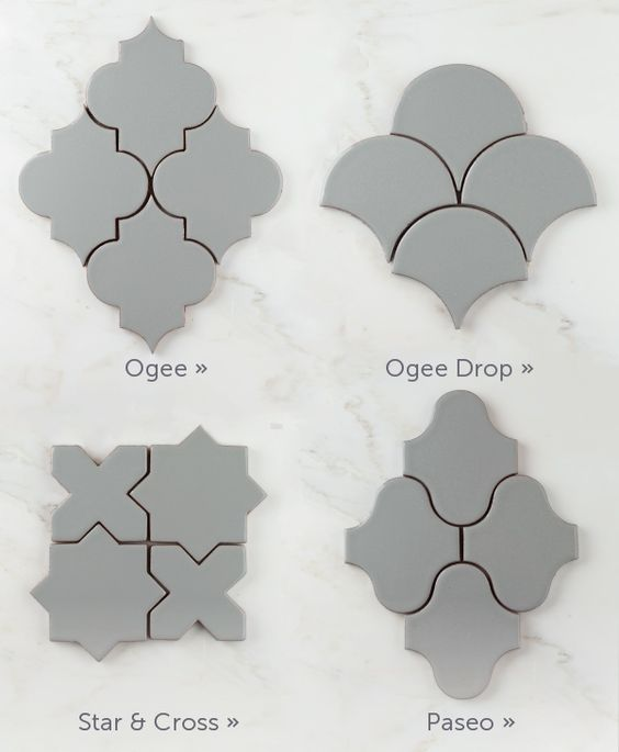 Ten Tile Shapes Worth Noting