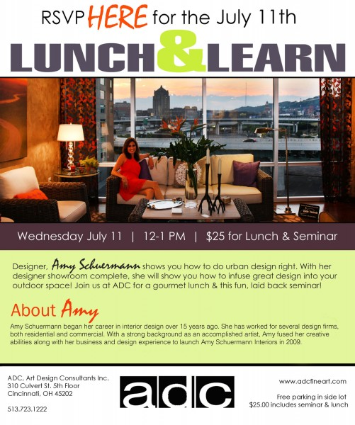 Lunch and Learn at Art Design Consultants