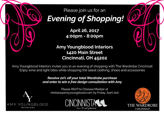 Join Us for an Evening of Shopping!