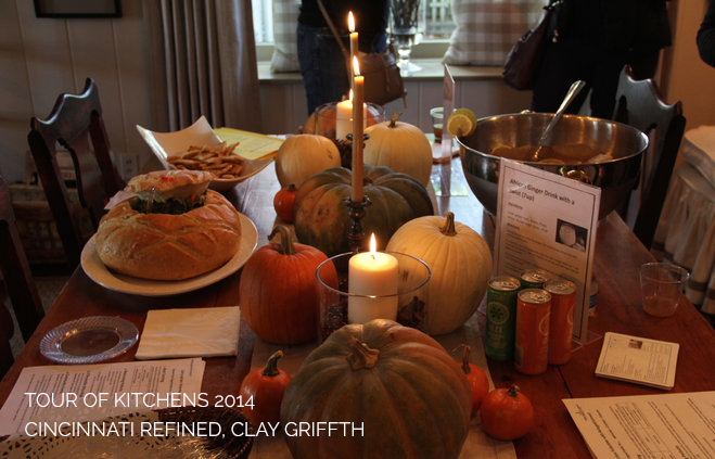 fall, fall food, pumpkins, entertaining, table setting, tour of kitchens, cincinnati tour of kitchens, junior league of cincinnati