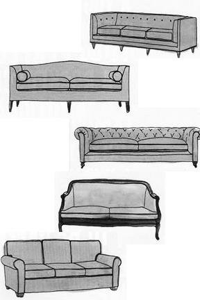 5 Sofa Styles Explained